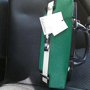Calvin Klein leather purse